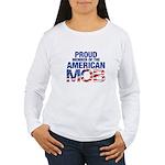 Proud Member of MOB Women's Long Sleeve T-Shirt