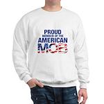 Proud Member American MOB Men's Sweatshirt