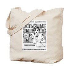 Reference Librarian Tote Bag