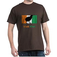 Irish Kiwi Vintage Flag T-Shirt