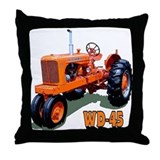 Tractor pulling Throw Pillow