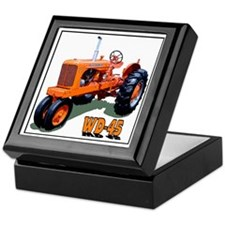 Allis chalmer tractors Keepsake Box