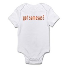 got samosas? Infant Bodysuit