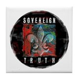 Sovereign Truth Tile Coaster