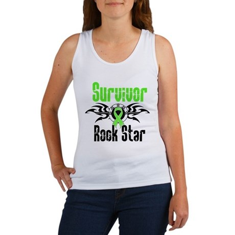 LymphomaSurvivorRockStar Women's Tank Top