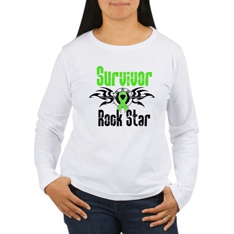 LymphomaSurvivorRockStar Women's Long Sleeve T-Shi