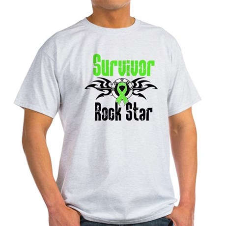 LymphomaSurvivorRockStar Light T-Shirt