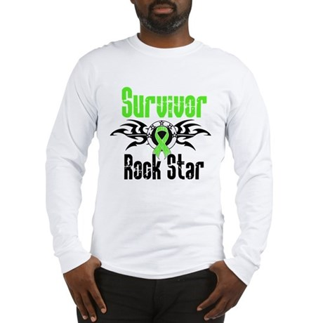LymphomaSurvivorRockStar Long Sleeve T-Shirt