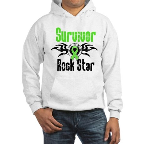 LymphomaSurvivorRockStar Hooded Sweatshirt