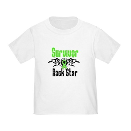 LymphomaSurvivorRockStar Toddler T-Shirt