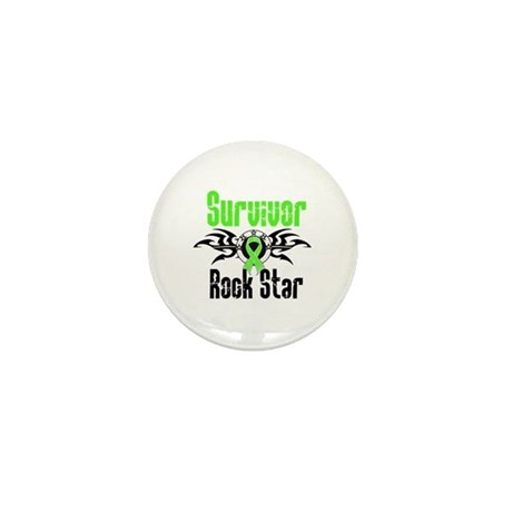 LymphomaSurvivorRockStar Mini Button