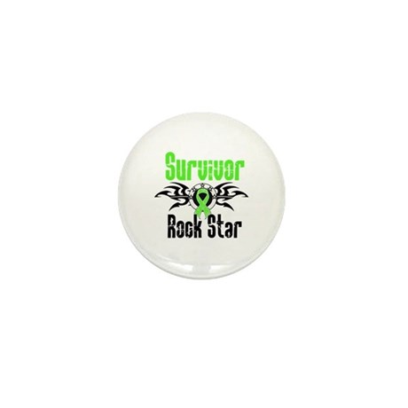 LymphomaSurvivorRockStar Mini Button (10 pack)