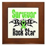 LymphomaSurvivorRockStar Framed Tile