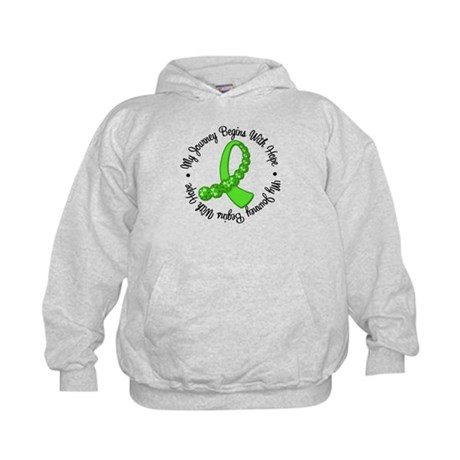 My Journey Hope Lymphoma Kids Hoodie