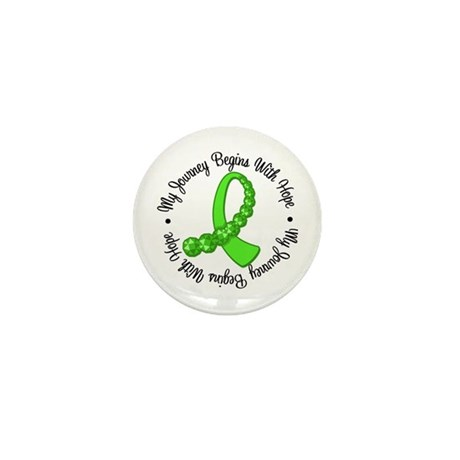 My Journey Hope Lymphoma Mini Button (100 pack)