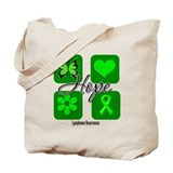 Lymphoma Hope Inspire Tote Bag