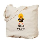 Fleur de Lis Nola Chick Tote Bag