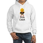 Fleur de Lis Nola Chick Hooded Sweatshirt