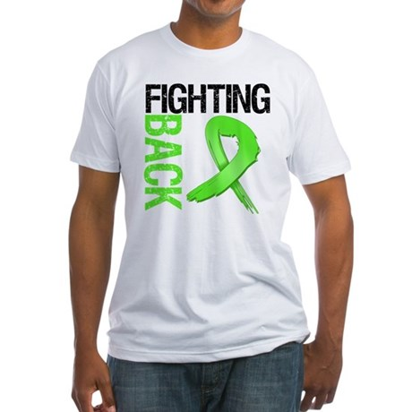 Fighting Back - Lymphoma Fitted T-Shirt