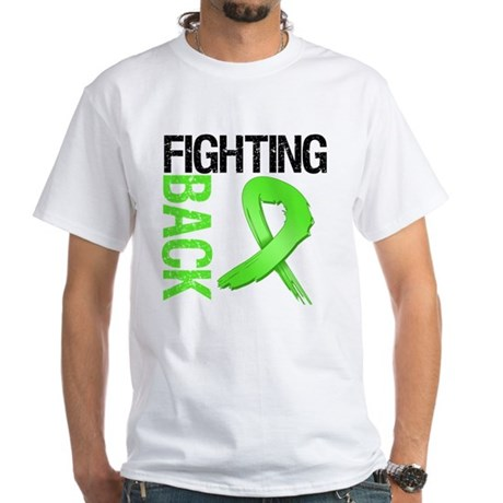 Fighting Back - Lymphoma White T-Shirt