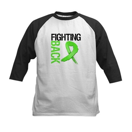 Fighting Back - Lymphoma Kids Baseball Jersey