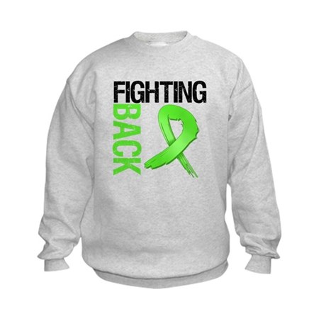 Fighting Back - Lymphoma Kids Sweatshirt