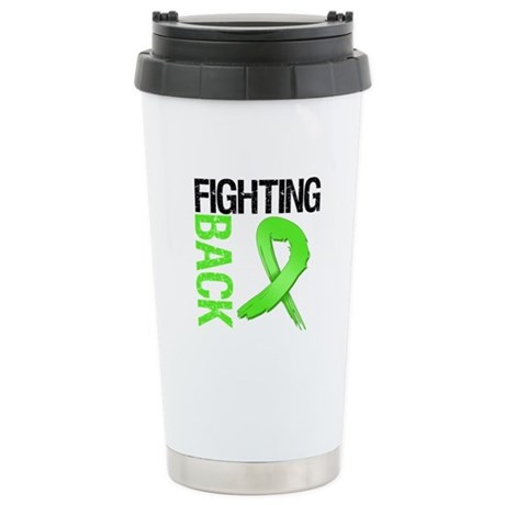 Fighting Back - Lymphoma Ceramic Travel Mug