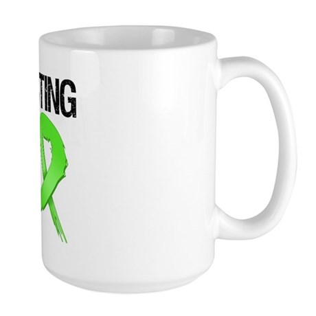 Fighting Back - Lymphoma Large Mug