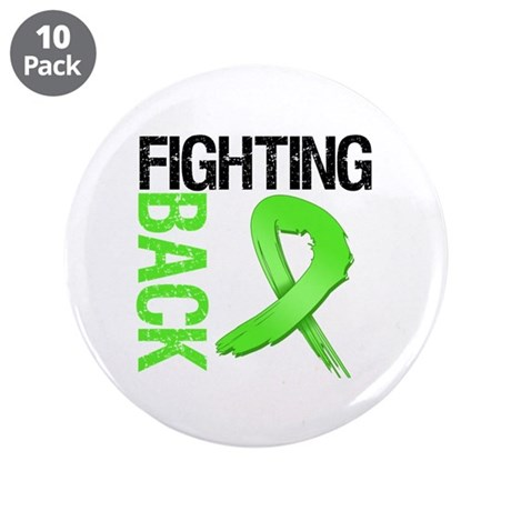 "Fighting Back - Lymphoma 3.5"" Button (10 pack)"