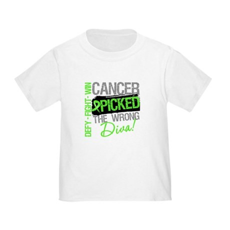 Lymphoma Diva Toddler T-Shirt