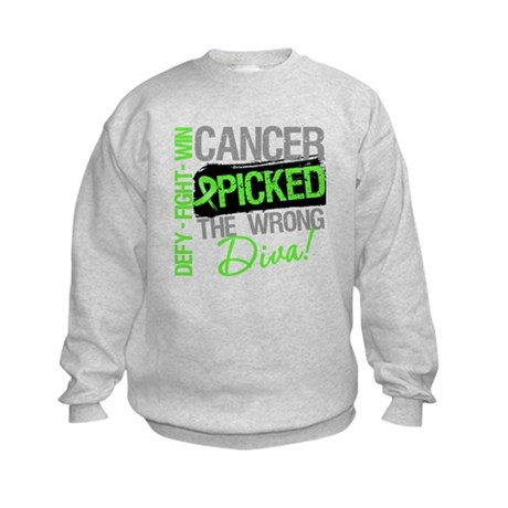 Lymphoma Diva Kids Sweatshirt