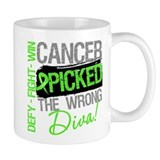 Lymphoma Diva Small Mug