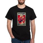 Obey the Vizsla! V Patriotism Dark T-Shirt