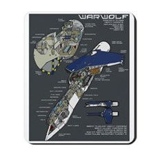 Warwolf Mousepad