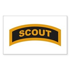 Scout Tab Rectangle Decal