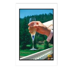 Champaign Toast Postcards (Package of 8)