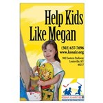 Help Kids Like Megan Large Poster