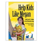 Help Kids Like Megan Small Poster