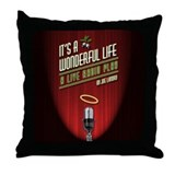 It's a Wonderful Life: A Live Throw Pillow