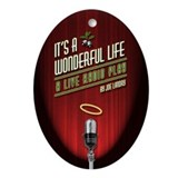 It's a Wonderful Life: A Live Oval Ornament