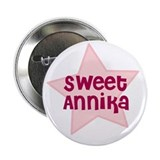 "Sweet Annika 2.25"" Button (10 pack)"