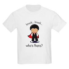 knock knock big brother halloween t-shirt T-Shirt