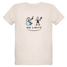 Disabled Tennis Girl T-Shirt