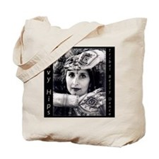 Tribal Belly Dance Goddess Henna Tote Bag