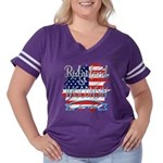 Cool Whee! Exclaimation Point Women's Plus Size Scoop Neck T-Shirt