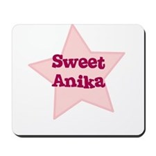 Sweet Anika Mousepad