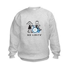 Girl Pushes Disabled Boy Sweatshirt