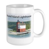 Round Island Lighthouse Mug