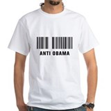 Barcode Anti Obama Shirt