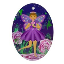 Fairy Princess OrnamentOval Ornament